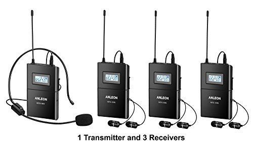 anleon-mtg-100-wireless-system-3-person-tour-group-guide-church-650-680mhz-1-transmitter-and-3-recei