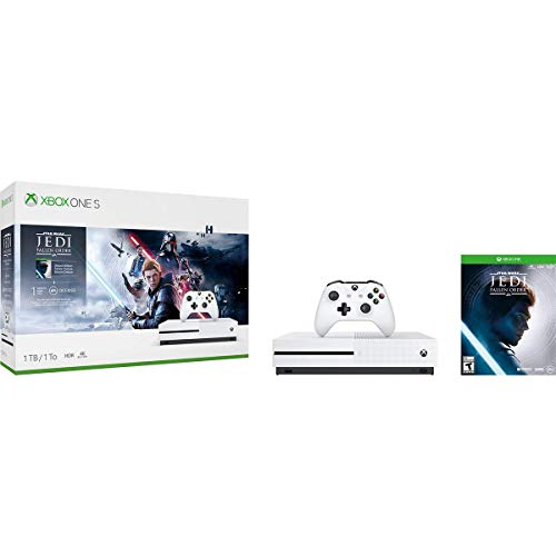 Xbox One S 1TB Console – Star Wars Jedi: Fallen Order Bundle