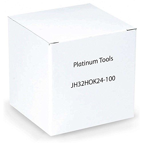 Platinum Tools JH32HOK24-100 2-Inch Hammer-On J-Hook, 1/8-Inch-1/4-Inch Flange, Size 32, 100 Per Box by Platinum Tools