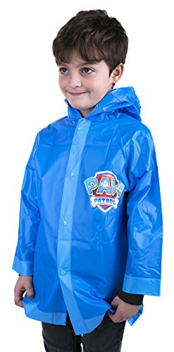 Toddler Paw Patrol Boys Rain Slicker Size 4-5 (Medium)