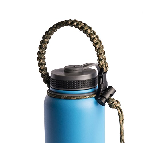 Paracord Survival Kanteen Stainless Bottles