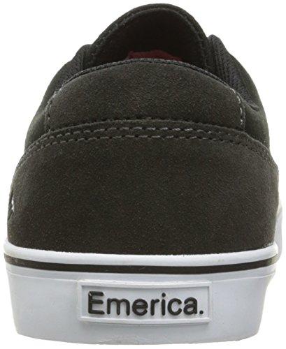 Slim Shoe Emerica Vulc Provost Black Grey Skate 5I5wnB6xqr