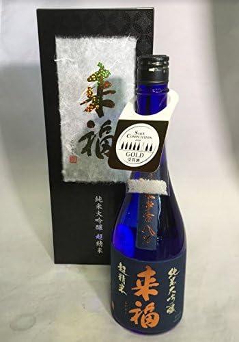 茨城県 来福酒造 ( らいふく ) 純米大吟醸 超精米8% 720ml