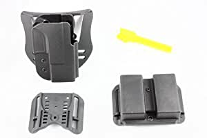 """Blade-Tech Revolution Combo Pack (Holster, DMP, T-Barrel) (Black) (XD 9/40 3"""" Subcompact, Right Hand)"""
