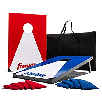 Image of Franklin Sports Cornhole Set — Includes 2 Targets, 8 Regulation Bean Bags, and Carry Bag Cornhole Bags