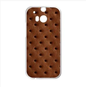 Best Custom Case - Ice cream Sandwich Design HTC One M8 (Laser Technology) Case, Cell Phone Cover