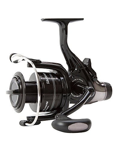fb057af233d Daiwa Black Widow Baitrunner/Freespool Reels Sizes 3500A/4000A/4500A/5000A  Carp Pike Salmon Trout Coarse Match Game Fishing Spinning