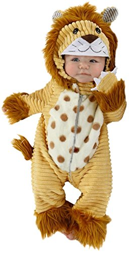Princess Paradise Baby Boys' Safari Lion Deluxe Costume, As Shown, 0/3M ()