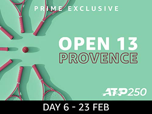 2019 Open 13 Provence, ATP 250 - Day 6 on Amazon Prime Video UK