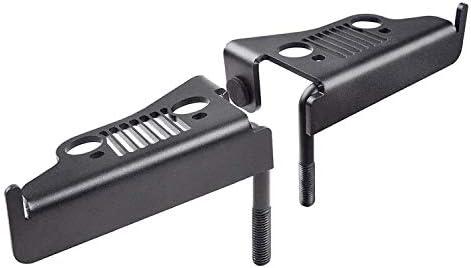 GCグローバルダイレクト07–16ジープラングラーJKフットレストペダル足ペグスタイルOpt Footrest Pedal