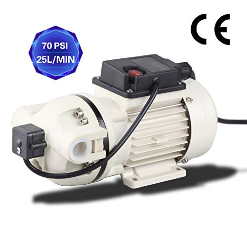 TDRFORCE Water Diaphragm Pump Electric Self Priming Dispensing Pump 115VAC 25L/Min(6.8GPM) 70PSI for Sprayer Irrigation Liquid Transfer