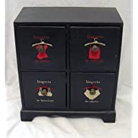 Lingerie Case (with 4 Drawers)