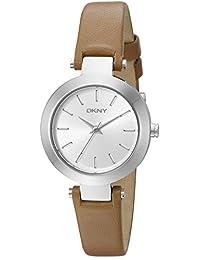 DKNY Women's NY2406 STANHOPE Analog Display Analog Quartz Brown Watch