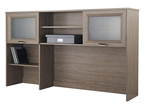 Realspace Magellan Hutch for Corner/L-Desk, Gray (Realspace Magellan Performance Collection L Desk Espresso)