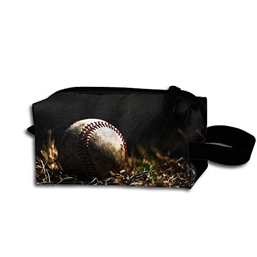 Colby Keats Cosmetic Makeup Bag Baseball Forest Pouch Toiletry Storage Bag Portable Lightweight Travel Toiletry Bag for Women Girls