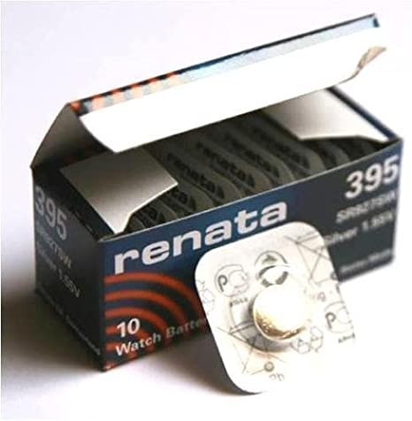 10 X Renata 395 Lithium Knopfzelle Sr927sw Kamera