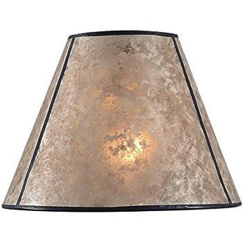 B Amp P Lamp Hexagon Style Mica Lampshade Amazon Com