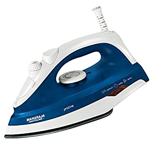 Maharaja Whiteline Pristine SI-103 1300-Watt Steam Iron (Blue)