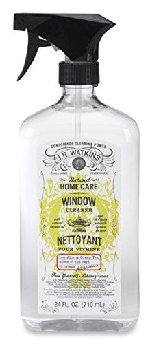 (J.R. Watkins Window Cleaner Aloe and Green Tea, 24 Fluid Ounce)