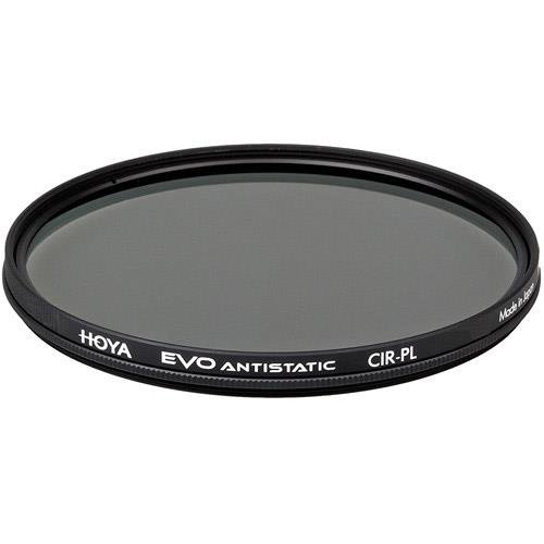 Hoya Evo Antistatic CPL Circular Polarizer Filter - 95mm - Dust / Stain / Water Repellent, Low-Profile Filter Frame