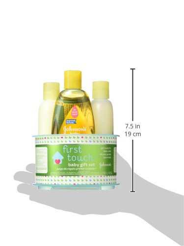 Large Product Image of Johnson's First Touch Gift Set, 4 Items