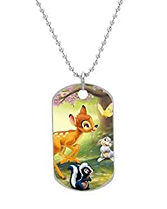 Bambi Custom OvaL Dog Tag (Large Size) Pet Tag Cat Animal Tag