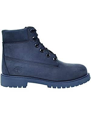 6 Inch Premium Waterproof Big Kids Boot Dark Blue tb0a171s