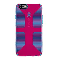 Speck Products CandyShell Grip Case, iPhone 6 Case/iPhone 6S Case, Lipstick Pink/Jay Blue