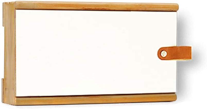 Caja de almacenamiento del enrutador Pared de madera montada en la pared Caja de almacenamiento de