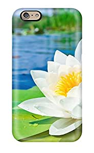 Water Lilys Durable Iphone 6 Tpu Flexible Soft Case