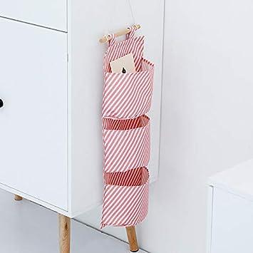 14cm 20 1X Phononey H/ängender Organizer Oxford Tuch H/ängende Flamingo H/ängeaufbewahrung mit 3 Taschen Wasserdichtes Spielzeug Container f/ür Kinderzimmer Wohnzimmer und Schlafzimmer 57