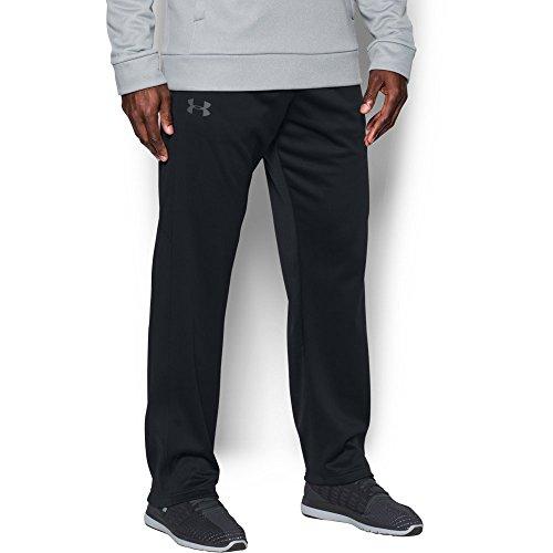 Under Armour Mens Armour Fleece Lightweight Pants, Black/Graphite, - For Under Men