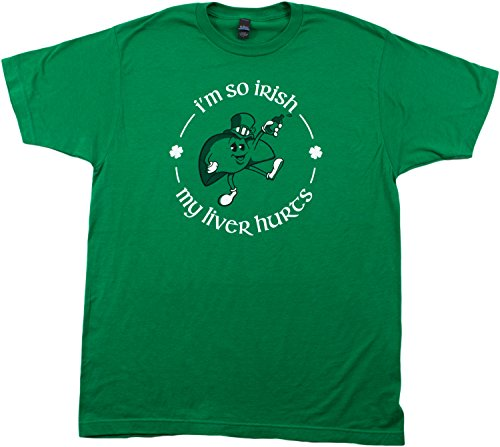 I'm so Irish, my Liver Hurts | Funny St. Patrick's Day Drinking Unisex T-shirt