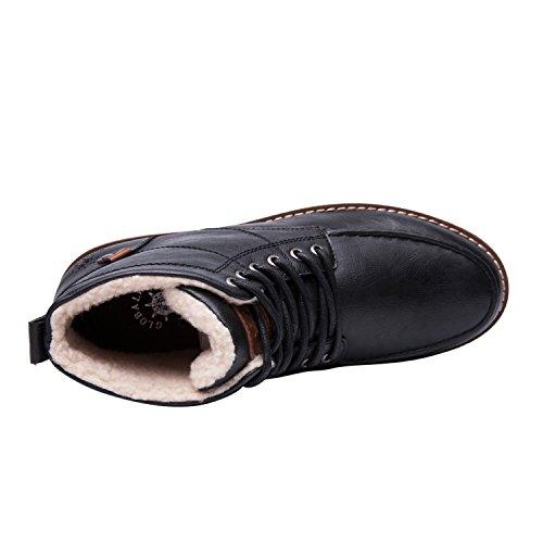 Classic Black Mens Chukka Globalwin Global Winter Boots Resistnat Win Water zwtBvU