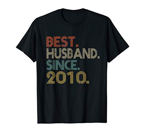 Mens 9th Wedding Anniversary Gifts Best Husband Since 2010 (Best Anniversary Gift Ever)