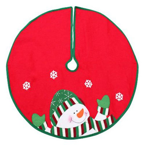- Dyno Seasonal Solutions 2243649-3CC Tree Skirt, 24-Inch, Red/White