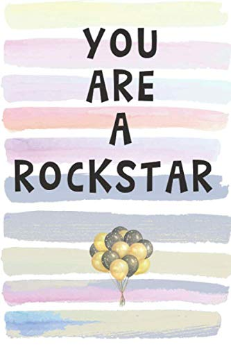 Spirit Halloween Corporate - You Are a Rockstar: Blank Lined