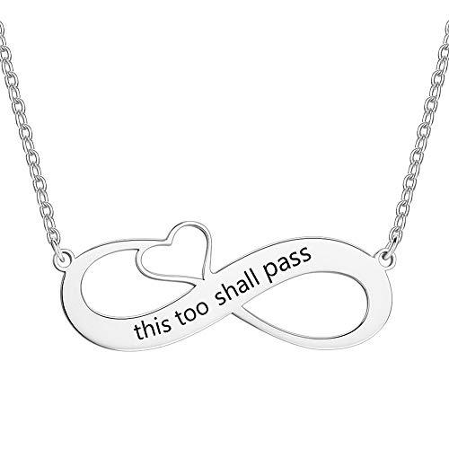 SOUFEEL Custom Name Necklace 925 Sterling Silver Necklace En