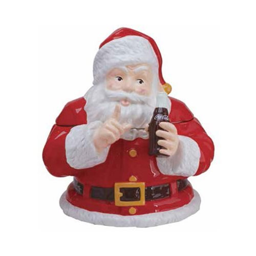 Coca-Cola Santa Claus Cookie Jar, Westland
