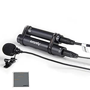 Fomito Aputure A. lav Professional Omnidirectional Lavalier Microphone