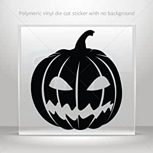 Stickers Decals Scary Jack O Lantern Halloween