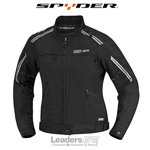Can-Am Spyder New OEM Ladies Cruise Jacket Large Black, 4406070990 by Can-Am