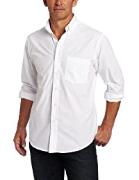 Men's Premium Performance Natural Stretch Solid Long Sleeve Shirt (Big & Tall and Tall Slim)