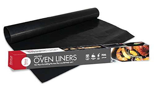 Oven Liners by ChickChefs, PACK OF 2 LARGE Reusable 100% Non-stick Teflon Mats to protect your oven floor, Suitable For All Oven Types (Convection Oven Cake Pan compare prices)