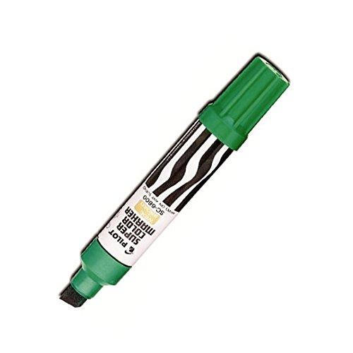 Pilot Super Color Jumbo Permanent Marker Green