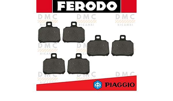 X9 250 hasta 2003 Kit de pastillas de freno Ferodo Piaggio X9 180 X9 200 X9 500 hasta 2002 FDB2074