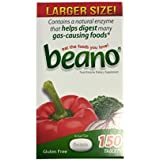 Beano Larger Size! 150 count Bottle