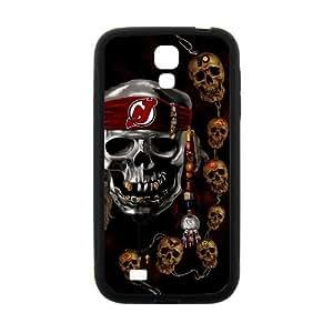 Custom Unique Design NHL New Jersey Devils Samsung Galaxy S4 Silicone Case