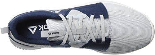 Collegiate Porcelain Grey Cloud Men White Hydrorush Sneaker Navy Tr Reebok fwAqzH0Y
