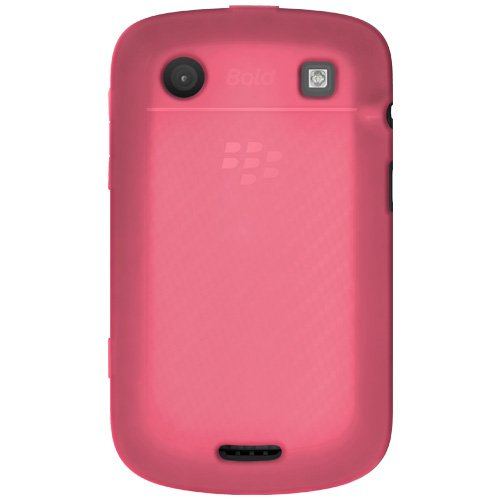 Amzer Silicone Skin Jelly Case for BlackBerry Bold 9900/9930 - 1 Pack - Case - Frustration-Free Packaging - Baby ()